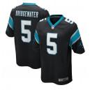 Teddy Bridgewater Carolina Panthers Nike 2020 Maillot de jeu - Noir