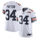 Walter Payton Chicago Bears Maillot Nike 2019 100th Season Alternate Classic Retraite Joueur Limited - Blanc