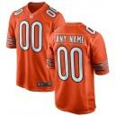 Chicago Bears Nike Alternate Personnalisé Jeu Maillot - Orange