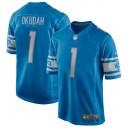 Jeff Okudah Detroit Lions Nike 2020 NFL Draft First Round Pick Jeu Maillot - Bleu