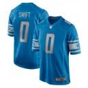 D'Andre Swift Detroit Lions 2020 NFL Draft Pick Jeu Maillot - Bleu