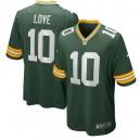 Jordan Love Green Bay Packers Nike 2020 NFL Draft First Round Pick Jeu Maillot - Vert