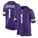 Justin Jefferson Minnesota Vikings Nike 2020 NFL Draft First Round Pick Jeu Maillot - Violet