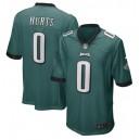 Jalen Hurts Philadelphia Eagles Nike 2020 NFL Draft Pick Jeu Maillot - Minuit Vert