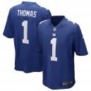 Andrew Thomas New York Giants Nike 2020 NFL Draft Premier Round Choisir Jeu Maillot - Royal