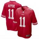 Brandon Aiyuk San Francisco 49ers Nike 2020 NFL Draft First Round Pick Jeu Maillot - Écarlate