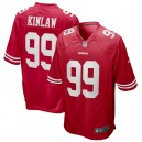 Javon Kinlaw San Francisco 49ers Nike 2020 NFL Draft First Round Pick Jeu Maillot - Écarlate