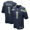 Jordyn Brooks Seattle Seahawks Nike 2020 NFL Draft First Round Pick Jeu Maillot - Marine