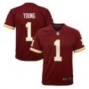 Chase Young Washington Redskins Nike Enfants 2020 NFL Draft First Round Pick Jeu Maillot - Bourgogne