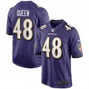 Patrick Queen Baltimore Ravens Nike 2020 NFL Draft First Round Pick Jeu Maillot - Violet