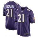 Mark Ingram Baltimore Ravens Nike Jeu Joueur Maillot - Violet