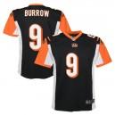 Joe Burrow Cincinnati Bengals Nike Enfants 2020 NFL Draft First Round Pick Jeu Maillot - Noir
