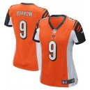 Joe Burrow Cincinnati Bengals Nike Women's 2020 NFL Draft First Round Pick Jeu Maillot - Orange