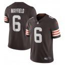 Baker Mayfield Cleveland Browns Nike Vapor Limited Joueur Maillot - Marron