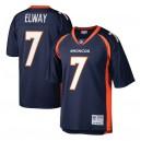 John Elway Denver Broncos Mitchell - Ness Legacy Réplique Maillot - Marine