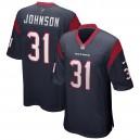 David Johnson Houston Texans Nike Jeu Joueur Maillot - Navy
