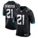C.J. Henderson Jacksonville Jaguars Nike 2020 NFL Draft First Round Pick Jeu Maillot - Noir