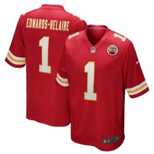 Clyde Edwards-Helaire Kansas City Chiefs Nike 2020 NFL Draft First Round Pick Jeu Maillot - Rouge