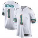 Tua Tagovailoa Miami Dolphins Nike 2nd Alternate Jeu Maillot - Blanc