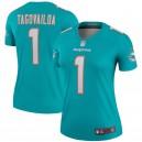 Tua Tagovailoa Miami Dolphins Nike Femmes Légende Maillot - Aqua
