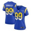 Aaron Donald Los Angeles Rams Nike Femmes Jeu Maillot - Royal