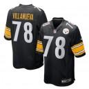 Alejandro Villanueva Pittsburgh Steelers Nike Jeu Joueur Maillot - Noir