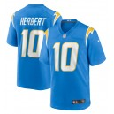 Justin Herbert Los Angeles Chargers Nike 2020 NFL Draft First Round Pick Jeu Maillot - Powder Blue