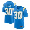 Austin Ekeler Los Angeles Chargers Nike Jeu Maillot - Bleu poudre