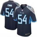 Rashaan Evans Tennessee Titans Nike Jeu Joueur Maillot - Marine