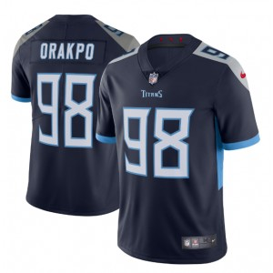 Brian Orakpo Tennessee Titans Nike Vapor Intouchable Maillot Limitée - Marine