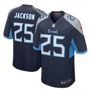 Adoree' Jackson Tennessee Titans Nike Joueur Jeu Maillot - Marine