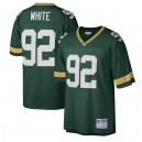 Reggie White Green Bay Packers Mitchell - Ness Big - Tall 1996 Retired Joueur Réplique Maillot - Vert