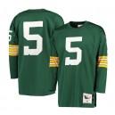 Paul Hornung Green Bay Packers Mitchell - Ness 1961 Retour Authentique Maillot - Vert