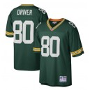 Donald Driver Green Bay Packers Mitchell - Ness Retired Joueur Héritage Réplique Maillot - Vert