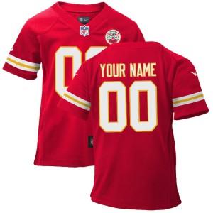 Nike Kansas City Chiefs Infant Personnalisé Jeu Équipe Couleur Maillot