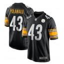 Troy Polamalu Pittsburgh Steelers Nike Jeu Maillot joueur à la retraite - Noir