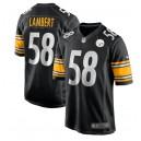 Jack Lambert Pittsburgh Steelers Nike Jeu Maillot joueur à la retraite - Noir
