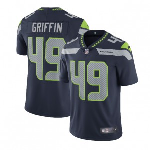 Shaquem Griffin Seattle Seahawks Nike Vapor Intouchable Limitée Maillot - Marine
