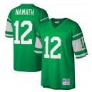 Joe Namath New York Jets Mitchell & Ness Héritage Réplique Maillot - Kelly Vert