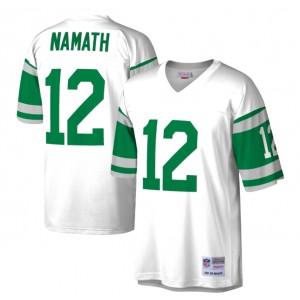 Joe Namath New York Jets Mitchell - Ness Héritage Réplique Maillot - Blanc