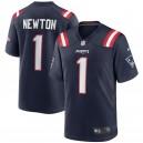 Cam Newton New England Patriots Nike Jeu Maillot - Marine