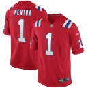 Cam Newton New England Patriots Nike Rechange Jeu Maillot - Rouge