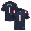 Cam Newton New England Patriots Nike Enfants Jeu Mailot - Marine
