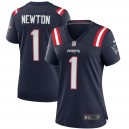 Cam Newton New England Patriots Nike Femmes Jeu Maillot - Marine