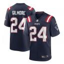 Stephon Gilmore New England Patriots Nike Jeu Maillot - Marine