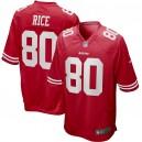 Jerry Rice San Francisco 49ers Nike Jeu Maillot joueur à la retraite - Scarlet