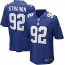 Michael Strahan New York Giants Nike Jeu Retiré Joueur Maillot - Royal
