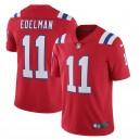 Julian Edelman New England Patriots Nike Alternate Vapeur Limitée Maillot - Rouge