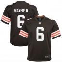 Baker Mayfield Cleveland Browns Nike Enfants Jeu Joueur Maillot - Marron