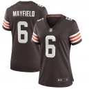 Baker Mayfield Cleveland Browns Nike Femmes Jeu Joueur Maillot - Marron
